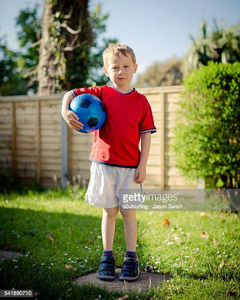 back garden football - s0ulsurfing stock pictures, royalty-free photos & images