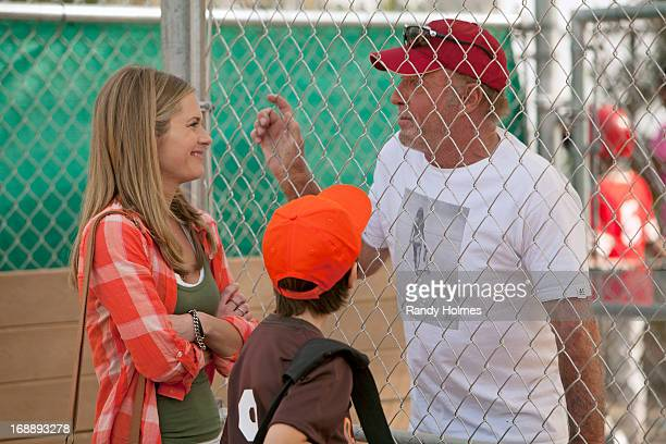 GAME Back in the Game stars Maggie Lawson as Terry Jr James Caan as Terry The Cannon Gannon Sr Lenora Crichlow as Gigi Griffin Gluck as Danny Ben...