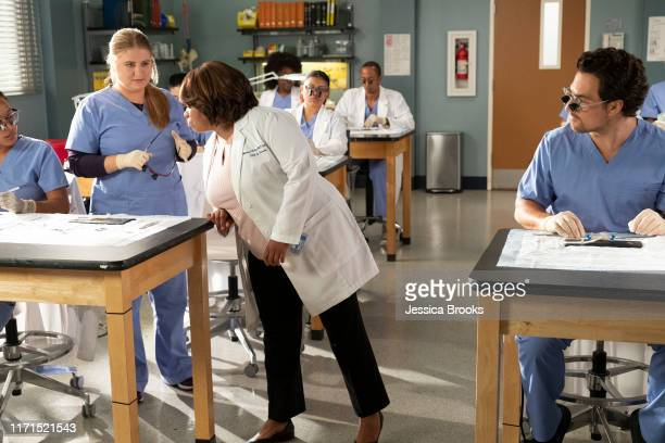 S ANATOMY Back in the Saddle The Grey Sloan doctors operate on a man who crashed into Maggie's car as Owen back from paternity leave struggles with...