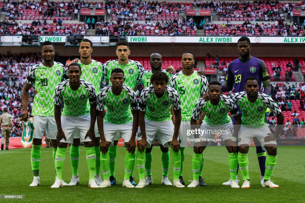 England  v Nigeria  -International Friendly : News Photo