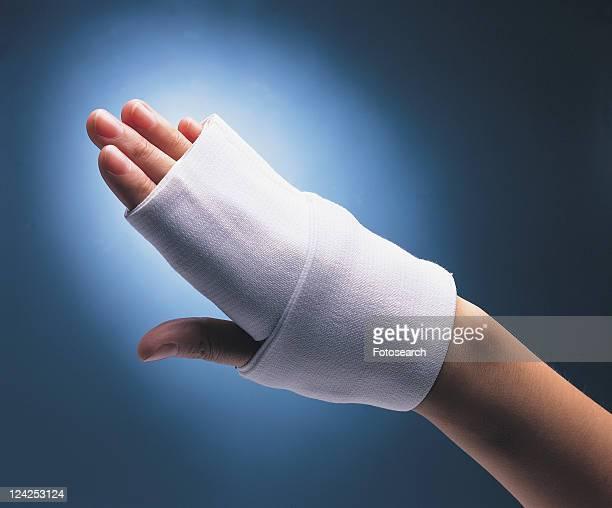 Back Lit, Bandage, Close-Up, Human Finger