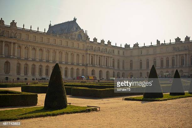 Back Lit Palace of Versailles
