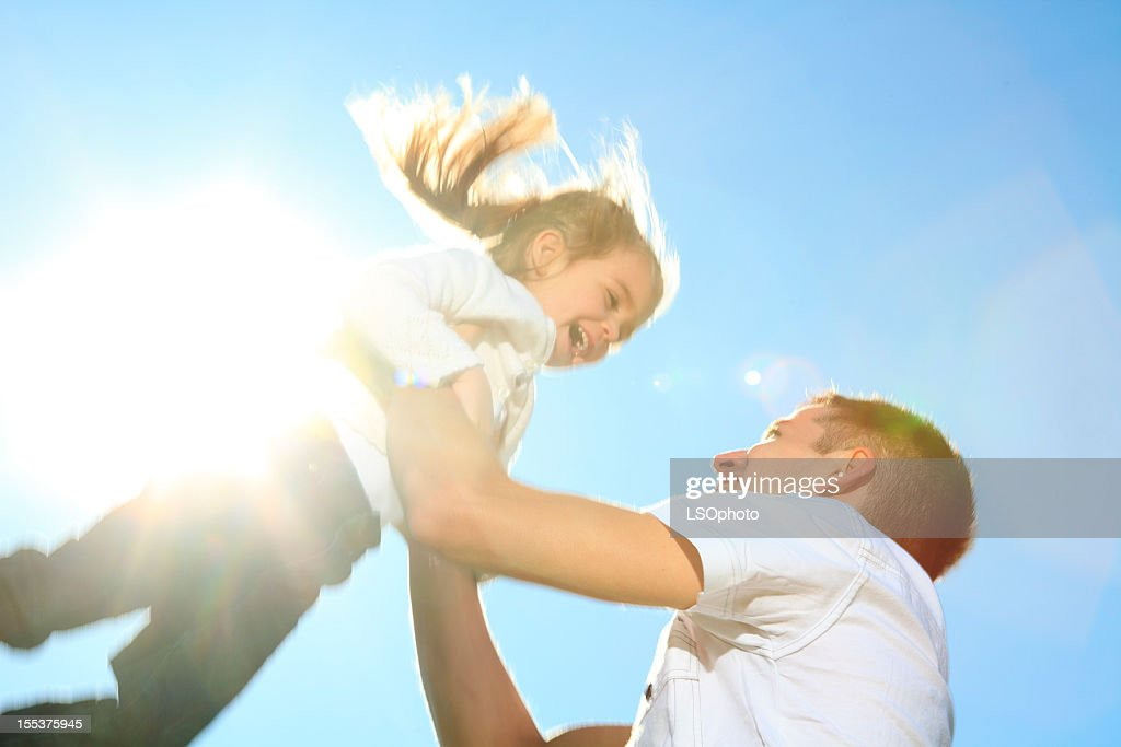 Back Lit - Sun Child On Sky : Bildbanksbilder