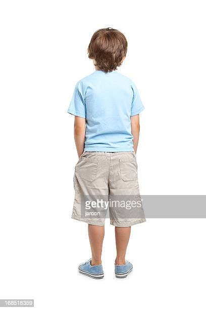 back of 8 years old boy - 8 9 years stock pictures, royalty-free photos & images