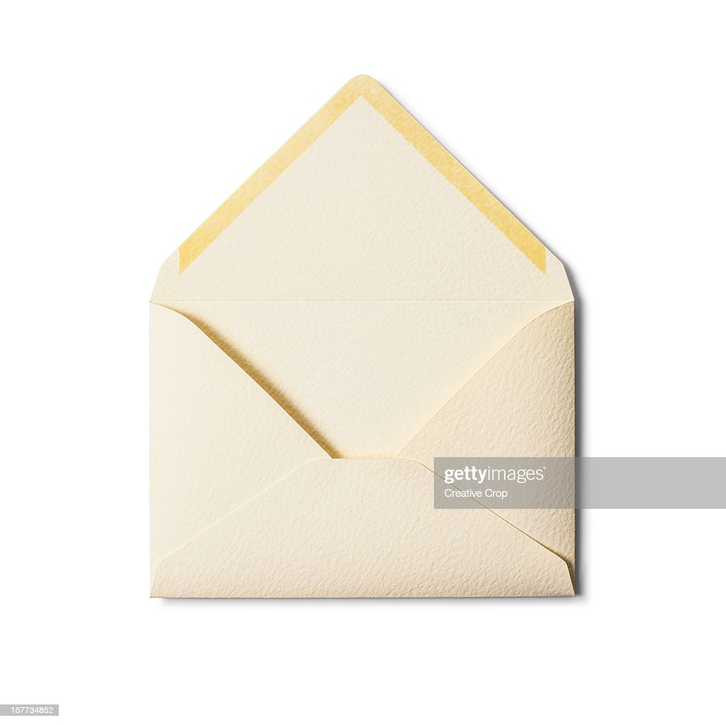 Back Of An Open Envelope High-Res Stock Photo - Getty Images