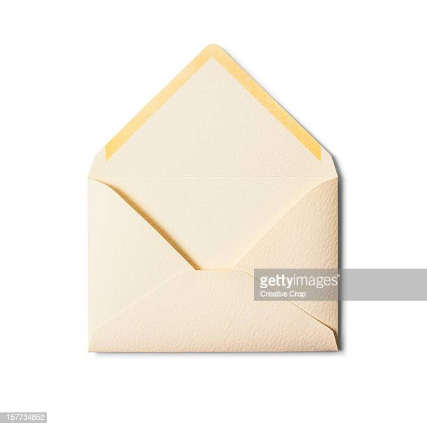 Back of an open envelope