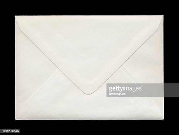 Rückseite der geschlossenen Briefumschlag