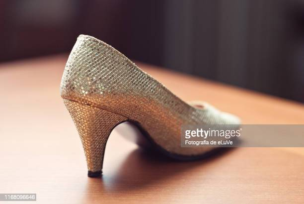 back of high heel - feet torture stock pictures, royalty-free photos & images