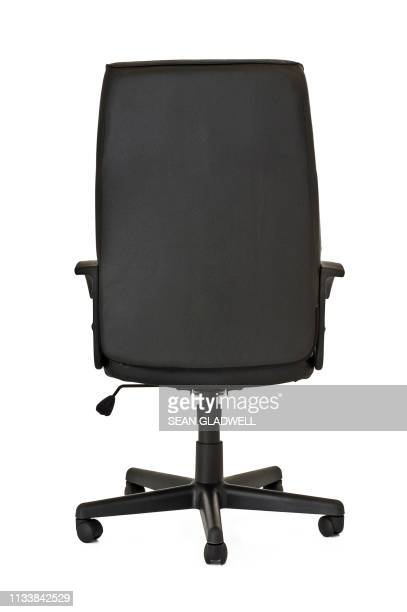 back of office chair - office chair stock pictures, royalty-free photos & images