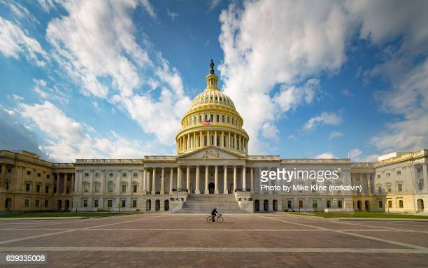 back of the us capitol - capital cities stock pictures, royalty-free photos & images