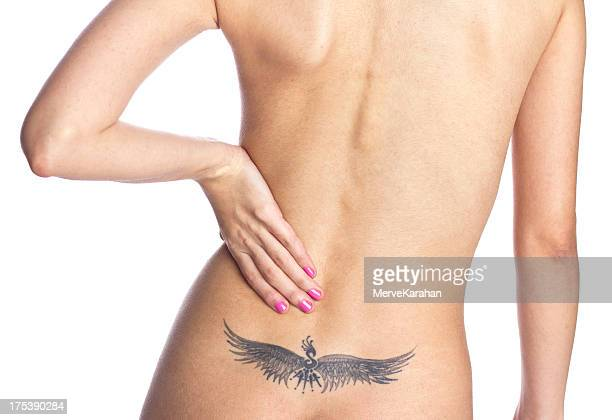 back pain - beautiful bare bottoms stock pictures, royalty-free photos & images