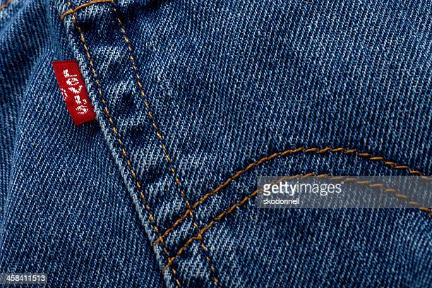 Back Pocket of Levi Jeans