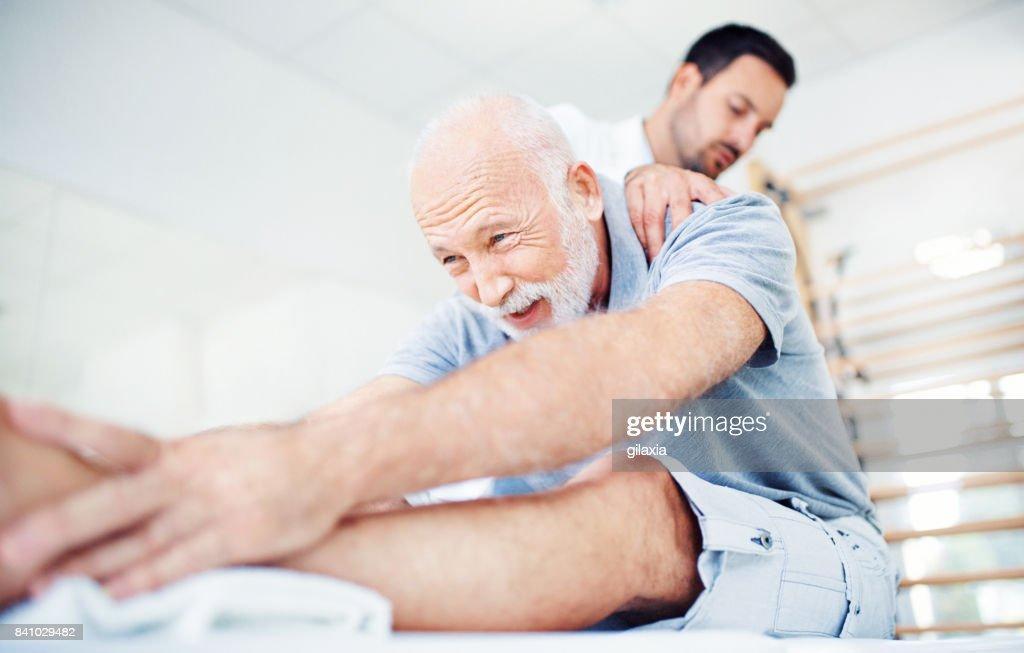 Problemas de espalda. : Foto de stock
