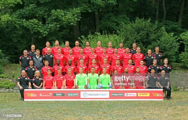 Back raw assistant coach Christopher Busse, Keven Schlotterbeck, Marvin Friedrich, Lars Dietz, Florian Huebner, Neven Subotic, Sebastian Polter,...