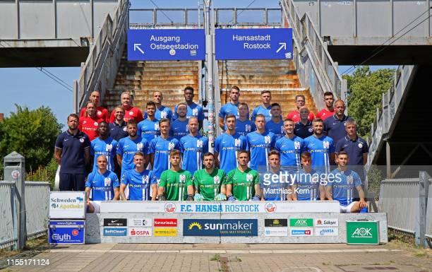 643 Hansa Rostock Team Presentation Bilder Und Fotos Getty Images