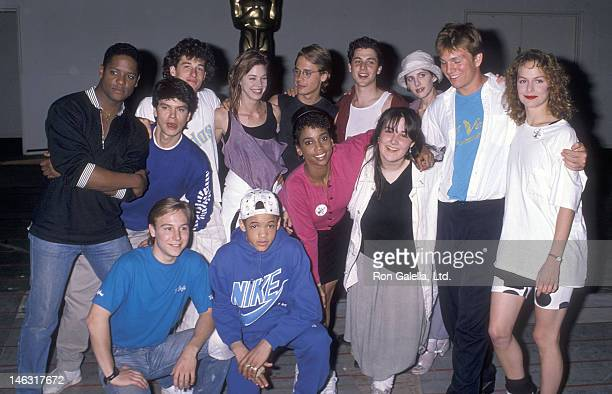 Back Row Actor Patrick Dempsey actress Carrie Hamilton actor Chad Lowe actor Corey Parker and actress Tracy Nelson Center Row Actor Blair Underwood...
