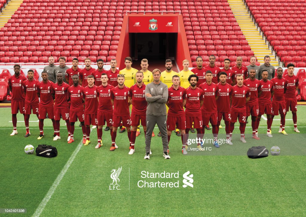 Liverpool FC Official Team Photo : News Photo