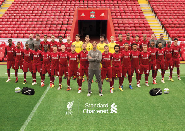 9a249bd6b14 GBR  Liverpool FC Official Team Photo