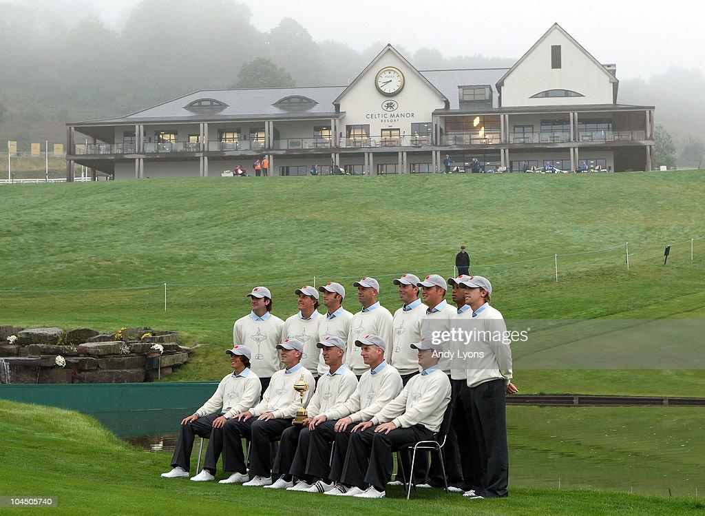 USA Team Photocall-2010 Ryder Cup : News Photo