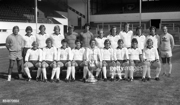 Des Anderson Ron Webster Peter Daniel Colin Todd Colin Boulton Graham Moseley Archie Gemmill Steve Powell Rod Thomas Henry Newton Kevin Hector and...