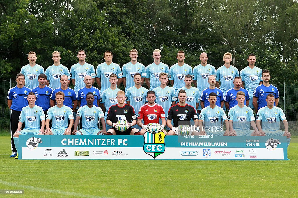 Chemnitzer FC - Team Presentation Photos and Images | Getty Images