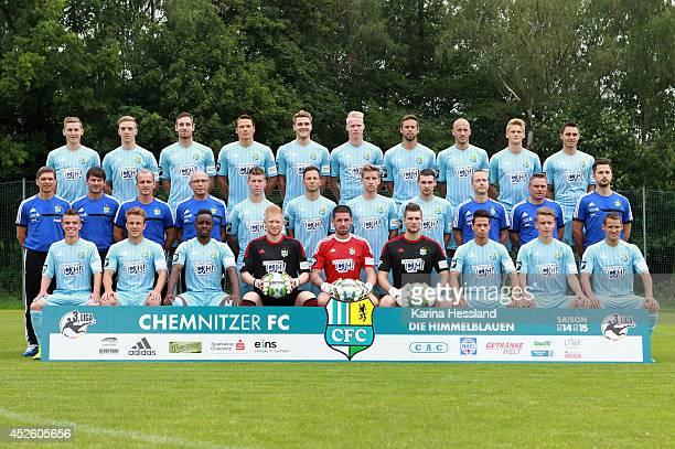Back row from left: Marc Lais, Marco Kehl-Gómez, Markus Ziereis, Marc Hensel, Nils Roeseler, Tom Scheffel, Marc Endres, Sebastian Glasner,...