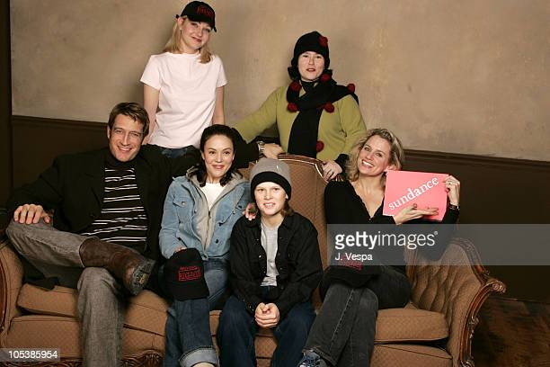 Jamie Donahue director and Alex Borstein Front row Robert Gant Gina Rodgers Spencer Daniels and Cady Huffman