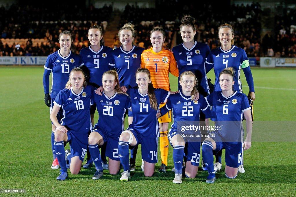 Scotland  v USA  -International Friendly Women : News Photo