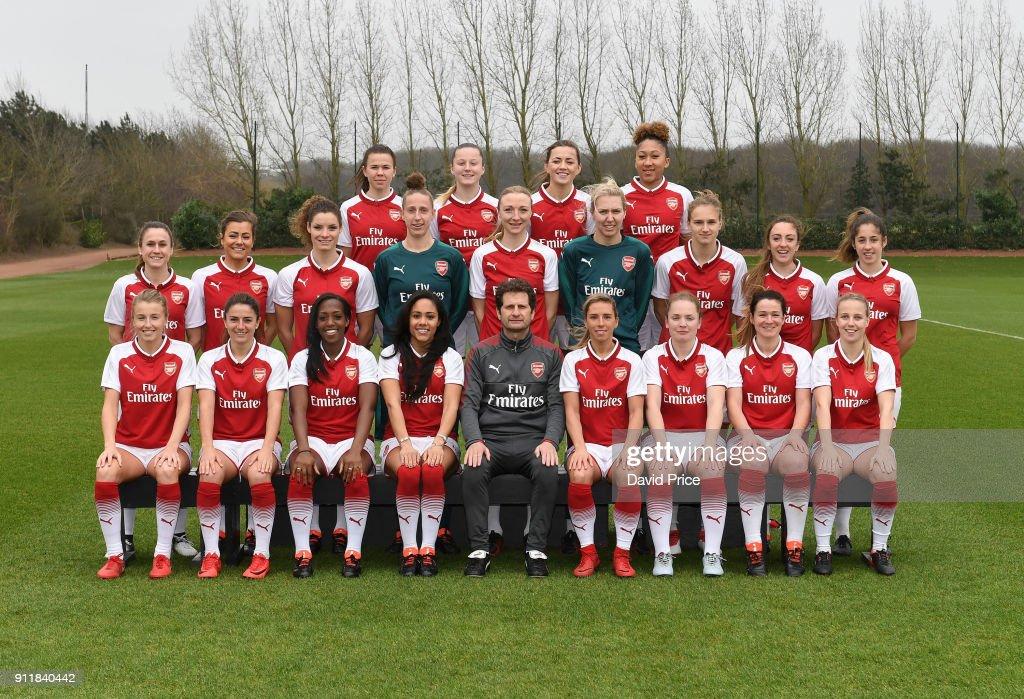 Arsenal Ladies Team Photocall