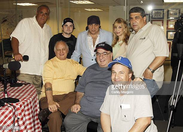 Joe Causi Robert Iler Little Steven Van Zandt Maureen Van Zandt and Vincent Pastore front row Joe Rigano John ChaCha Ciarcia and Uncle Floyd Vivino
