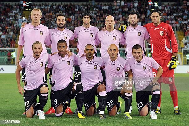 Back Row : Kamil Glik, Mattia Cassani, Javier Pastore, Giulio Migliacci, Cesare Bovo and Salvatore Sirigu; Front Row Federico Balzaretti, Abel...