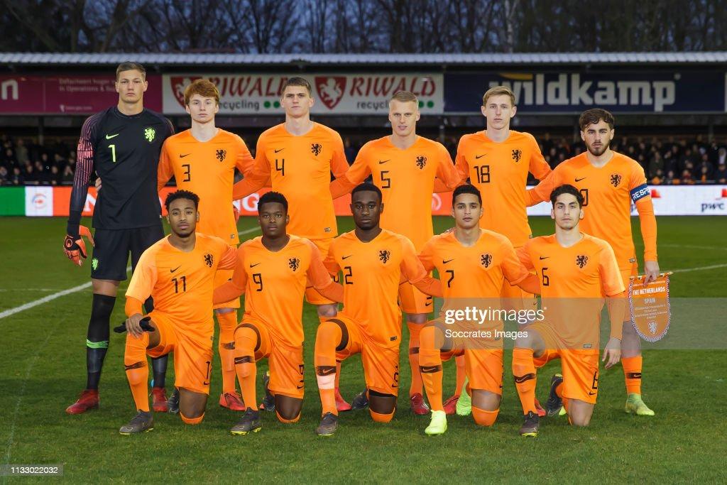 NLD: Netherlands U19 v Spain U19 - International Friendly