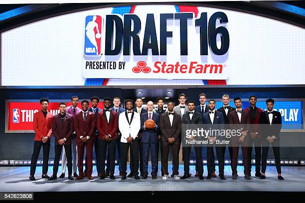Back Row Malachi RichardsonSkal LabissiereDeyonta Davis Henry Ellerson Ben SimmonsBrandon Ingram Dragan Bender Jacob Poeltl Marquese Chriss Front Row...
