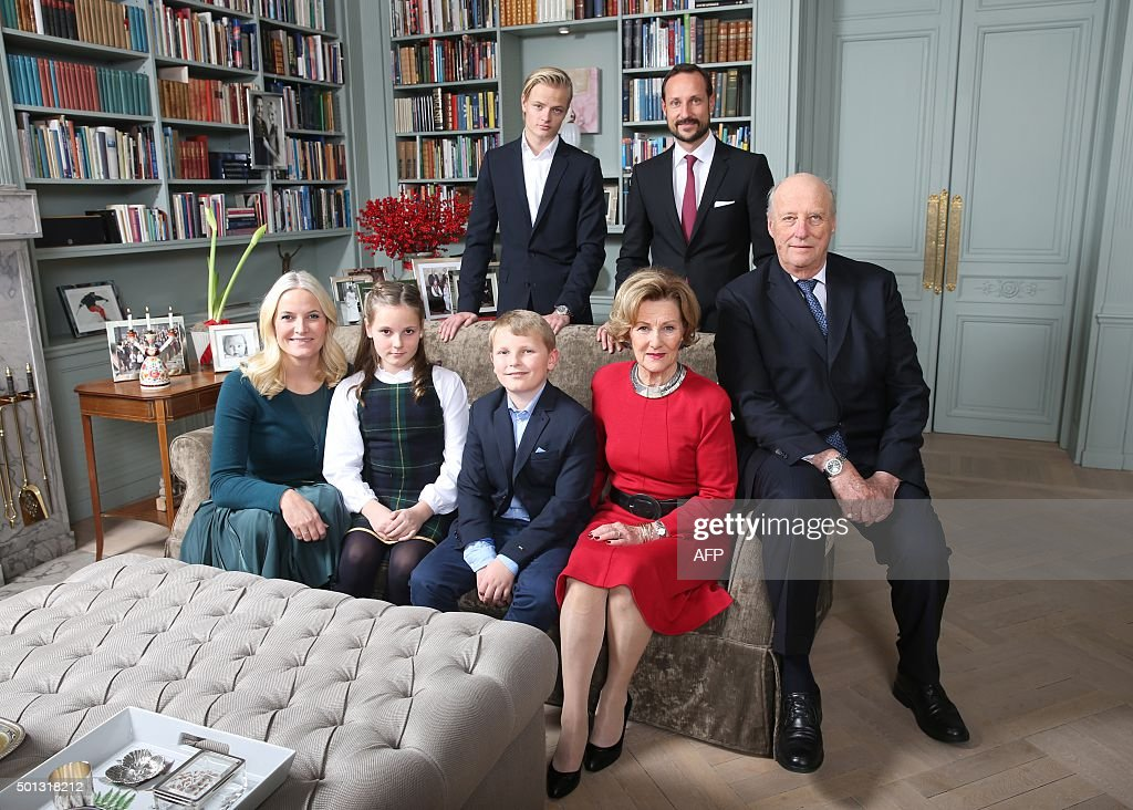 NORWAY-ROYALS-CHRISTMAS : News Photo