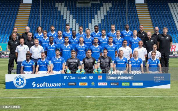 Back row Matthias Neumann, Michael Richter, Julian von Haacke, Victor Palsson, Mathias Honsak, Fabian Schnellhardt, Mandela Egbo, Immanuel Hoehn,...