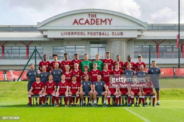 Back Row Rafael Camacho Curtis Jones Abdi Sharif Marley Blair Ben Williams Dan Atherton Rhys Williams Elijah DixonBonner Okera Simmonds and Anthony...