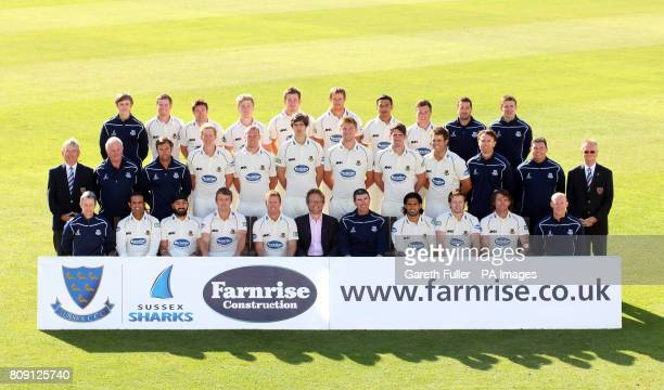 Robin Pritchard Ben Brown Andrew Hodd Will Beer Joe Gatting James Anyon Naveed Arif Gondal Matt Machan Paul Khoury James West Middle Row Mike Charman...