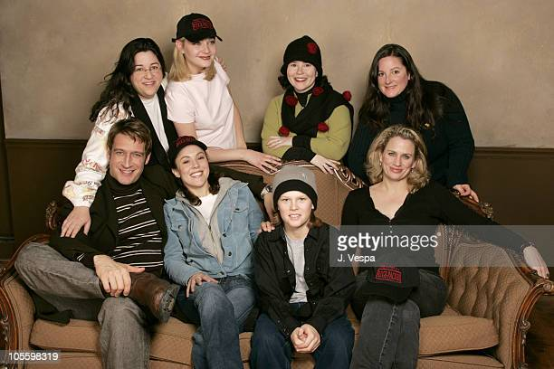 Stacy Codikow executive producer Jamie Donahue director Alex Borstein Lisa Thrasher Front row Robert Gant Gina Rodgers Spencer Daniels and Cady...