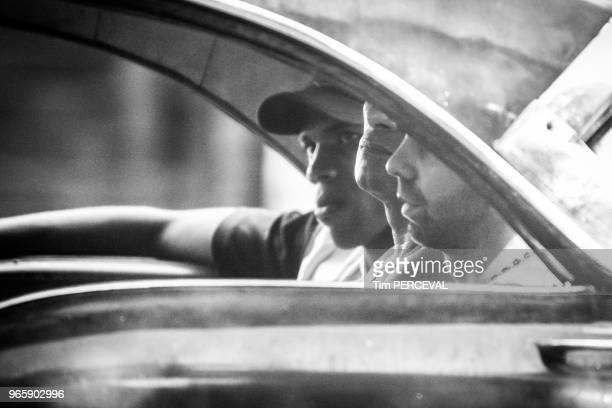 Back seat Cubans Havana