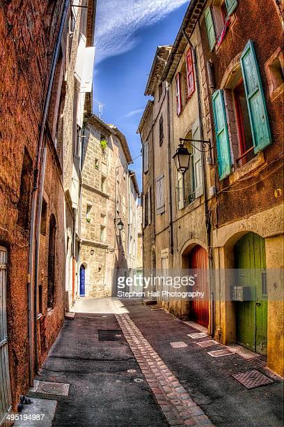 Back street of Carcassone France