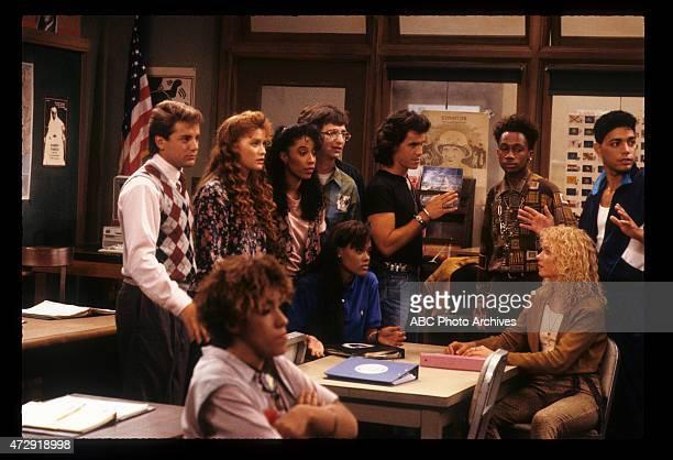 CLASS 'Back to School' Airdate September 27 1989 TONY O'DELLRAIN PRYORKHRYSTYNE HAJEKIMBERLY RUSSELLROBIN GIVENSDAN FRISCHMANDAN SCHNEIDERBRIAN...