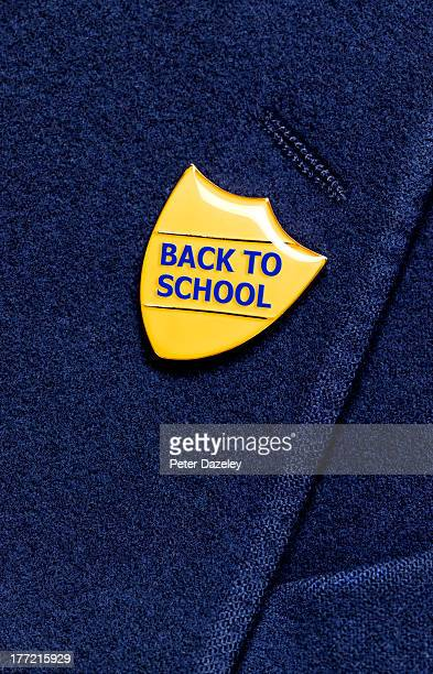 Back to school blazer badge