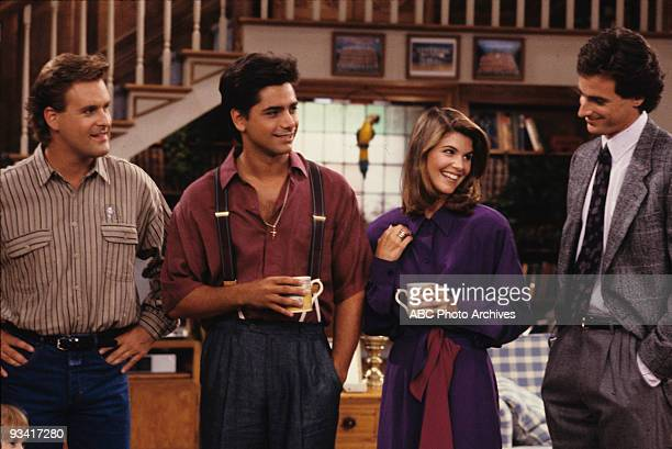 HOUSE 'Back to School Blues' Season Three 9/29/89 Joey and Jesse played golf to impress a client Lori Loughlin and Bob Saget also starred