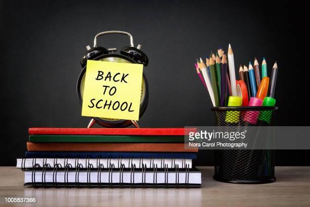 Back to school conceptual image
