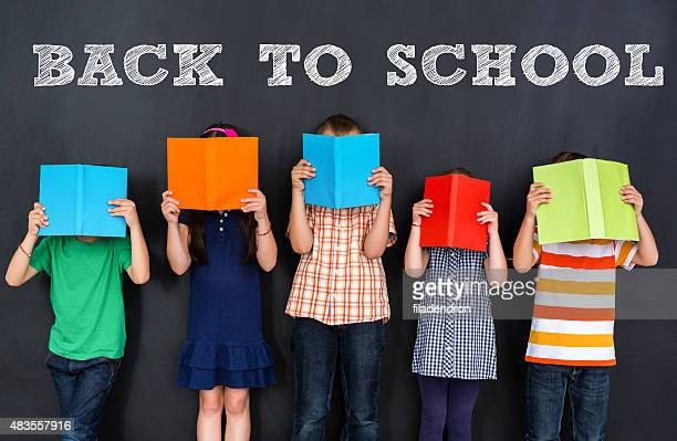 back to school - blackboard visual aid stock photos and pictures
