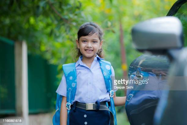 back to school stock photo - open backpack stock pictures, royalty-free photos & images