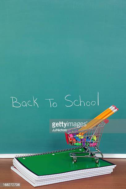 Back to School Supplies in Classroom
