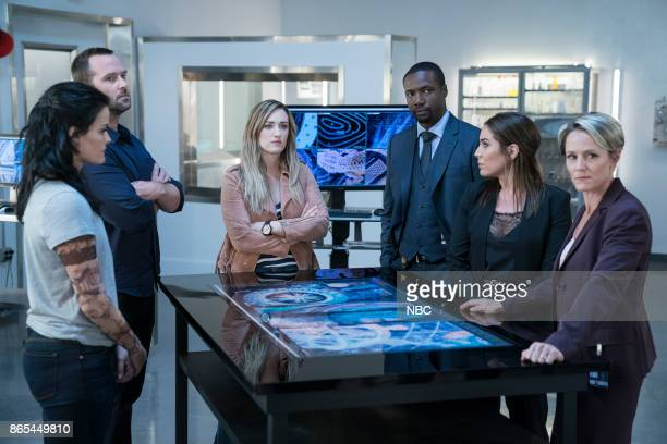 BLINDSPOT 'Back to the Grind' Episode 301 Pictured Jaimie Alexander as Jane Doe Sullivan Stapleton as Kurt Weller Ashley Johnson as Patterson Rob...
