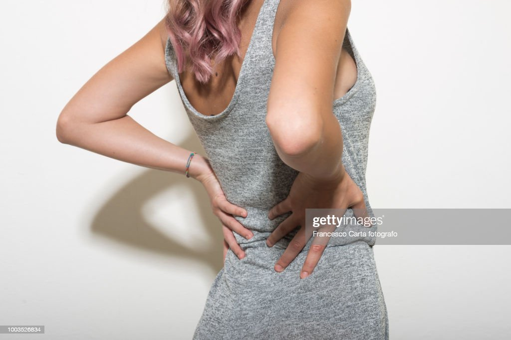Backache : Stock Photo