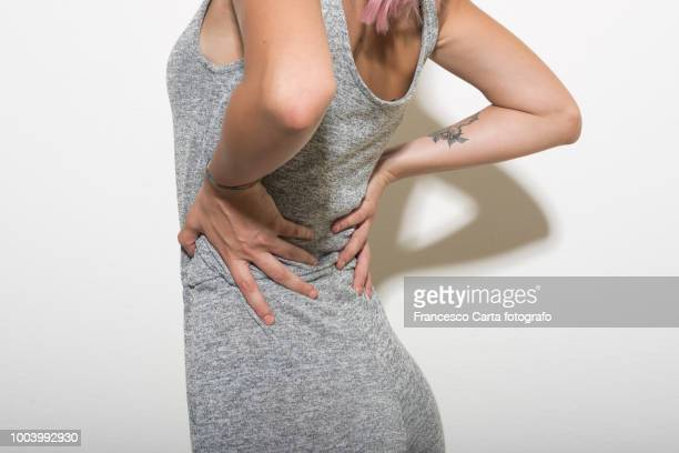 backache - herniated disc stock pictures, royalty-free photos & images